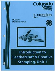 Introduction to Leathercraft & Creative Stamping, Unit 1 CO2001C