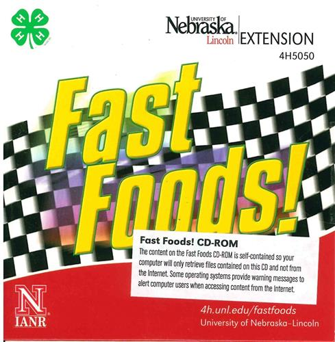 4-H Fast Foods CD-ROM 4H5050