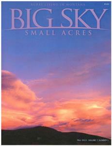 Big Sky Small Acres - Fall 2013 BSSAV7I1