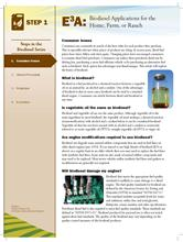 Biodiesel: Consumer Issues E3A-BD.1