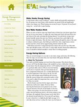 Energy Management for Home: Water Heater E3A-EMH.11