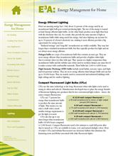 Energy Management for Home: Lighting E3A-EMH.14