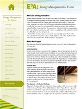 Energy Management for Home: Attic Insulation E3A-EMH.15