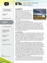 User's Guide: Off-Grid Living Fact Sheet E3A-UG.3