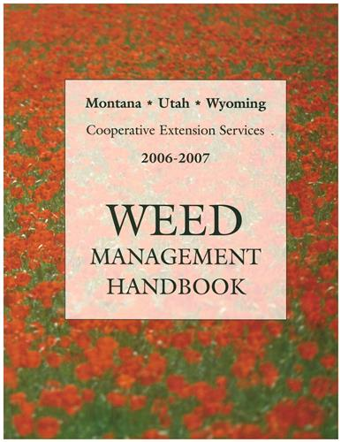Weed Management Handbook  2006-2007 EB0023
