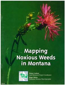 Mapping Montana's Noxious Weeds EB0148