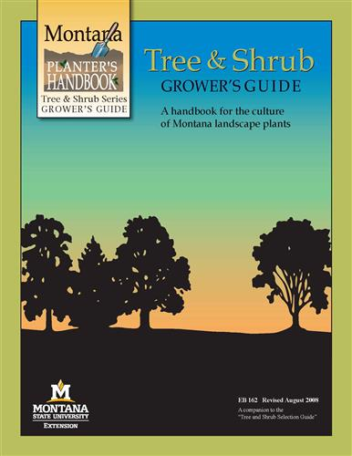 Trees and Shrubs Growers Guide EB0162