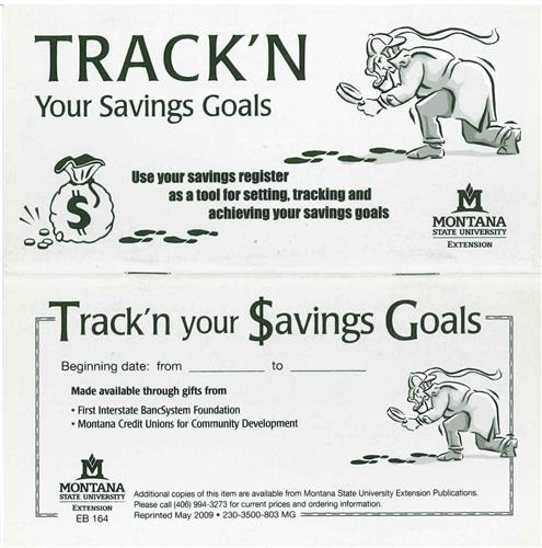 Track'n Your Savings Register EB0164