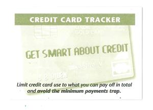 Credit Card Tracker (Get Smart About Credit) EB0168