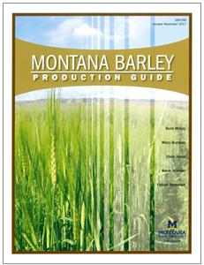 Montana Barley Production Guide EB0186