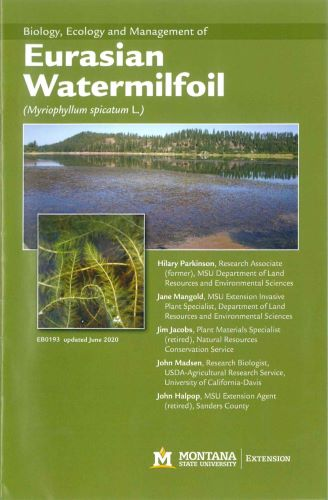 Biology, Ecology and Management of Eurasian Watermilfoil (Myriophyllum spicatum L.) EB0193