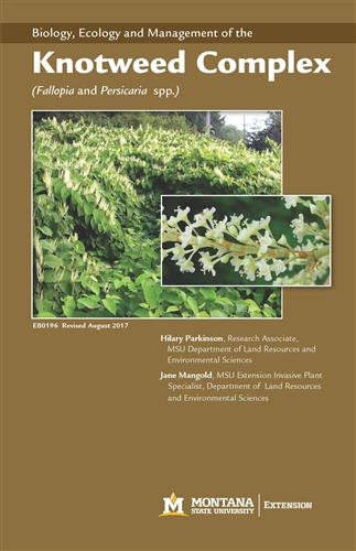 Biology, Ecology and Management of the Knotweed Complex (Polygonum spp.) EB0196