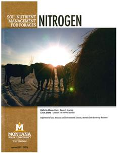 Soil Nutrient Management For Forages: Nitrogen EB0216