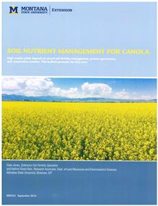 Soil Nutrient Management for Canola EB0224