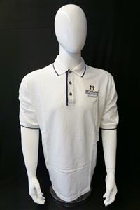White Polo Shirt AD0045