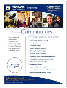 Community Development Programs Promotional Flyer AD0054