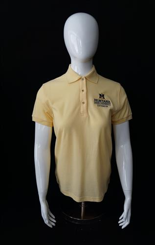Ladies Soft Yellow Polo AD0130