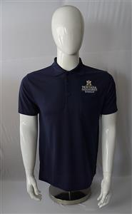 Mens Extension Navy Pocket Polo AD0154