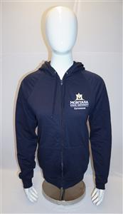 Extension Navy Zippered Hoodie AD0192