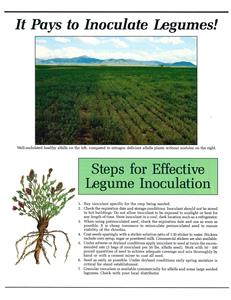 It Pays to Inoculate Legumes! 4411
