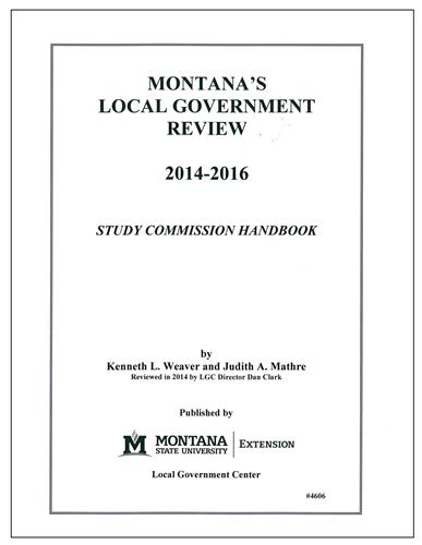 Montana Local government Review 2014-2016 4606