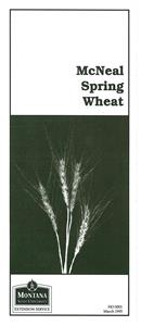 McNeal Spring Wheat HO0001