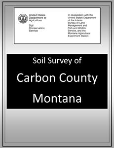Carbon County Soil Survey SOILS04