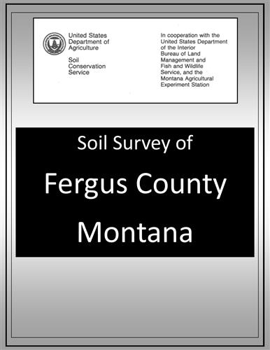 Fergus County Soil Survey SOILS23