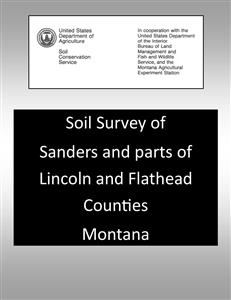 Sanders and parts of Lincoln and Flathead Counties Soils Survey SOILS39