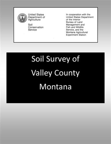 Valley County Soil Survey SOILS21